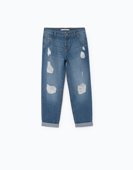 CHINO DENIM BAGGY FIT