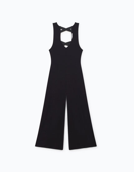 JUMPSUIT WITH BACK STRAPS