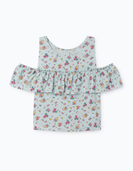 SHIRT WITH OPEN SHOULDERS