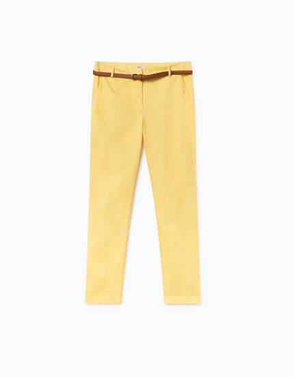 ESSENTIALS CHINO TROUSERS
