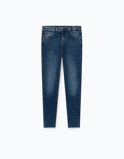 SUPER SKINNY JEANS WITH FRONT YOKE