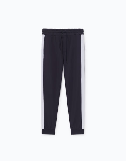 TECHNICAL TROUSERS WITH SIDE STRIPES