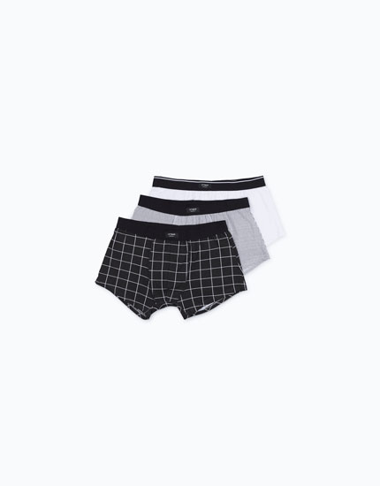 PACK OF CHECKED BOXERS