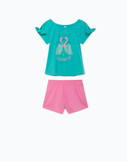 T-SHIRT AND SHORTS PACK