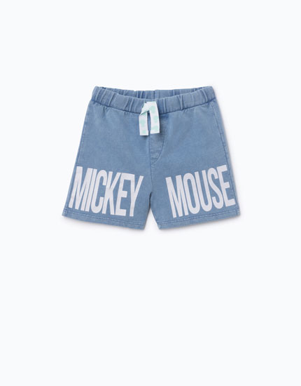 MICKEY MOUSE BERMUDA SHORTS