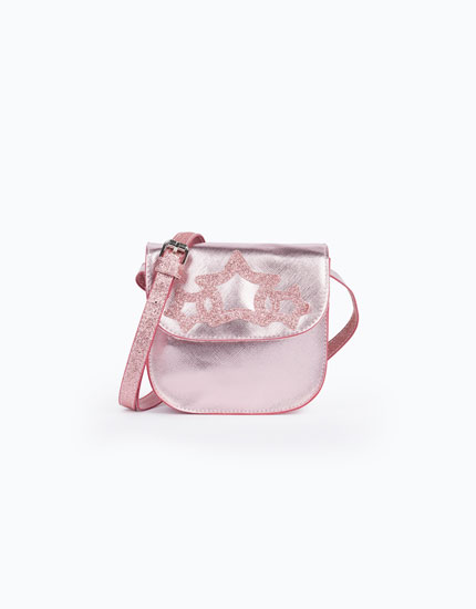 GLITTERY STAR CROSSBODY BAG