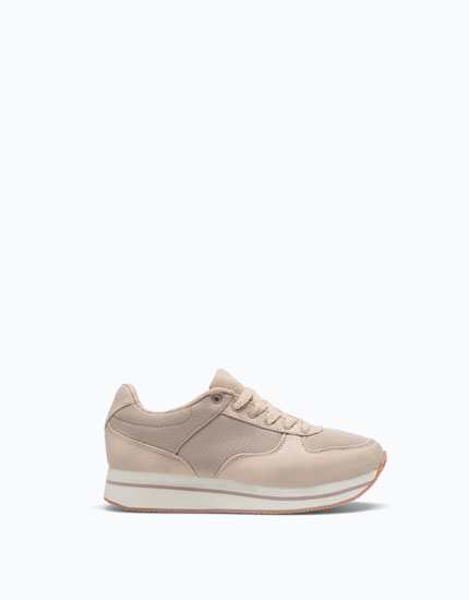 CONTRASTING EVA SOLE SNEAKERS