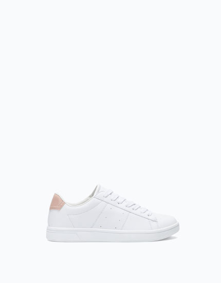 BASIC PLIMSOLLS WITH HEEL DETAIL