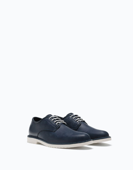 NAVY BLUE CASUAL SHOES