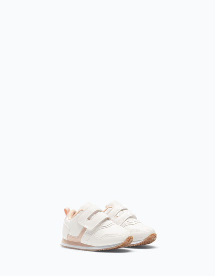 BASIC WHITE SNEAKERS
