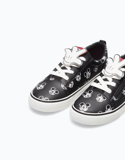 MICKEY MOUSE PATCH PLIMSOLLS