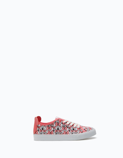 MINNIE MOUSE HEEL PLIMSOLLS