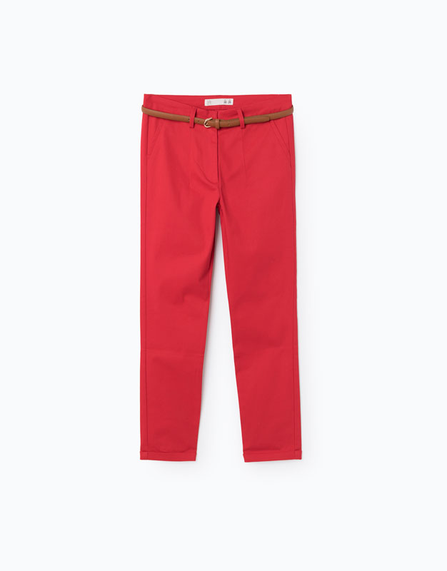 Lefties - pantalón chino essentials - 0-600 - 05924300-I2017