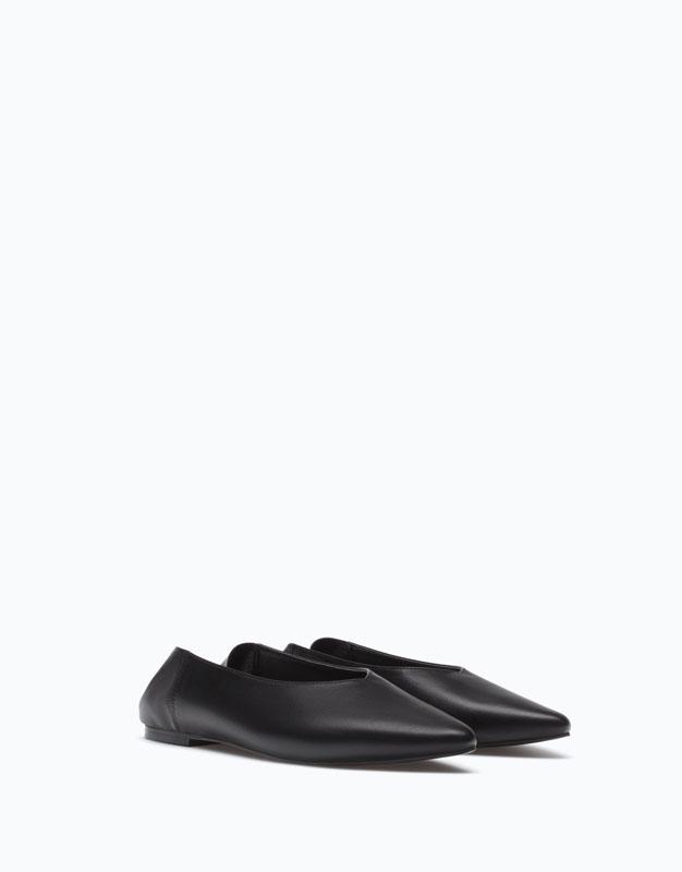 Lefties - zapato plano punta babucha - 1-040 - 15904291-I2017
