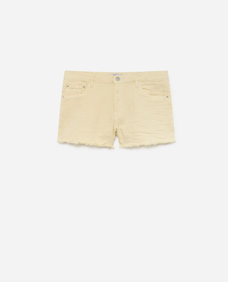 SHORT DENIM COLOR