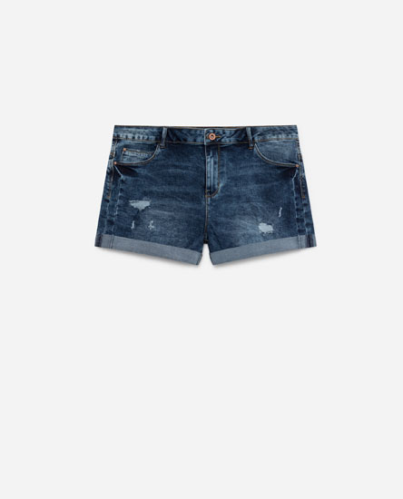 SHORT DENIM PUSH UP