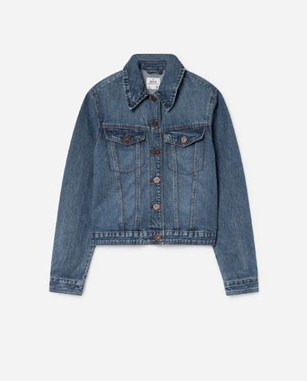 DENIM YOKE JACKET
