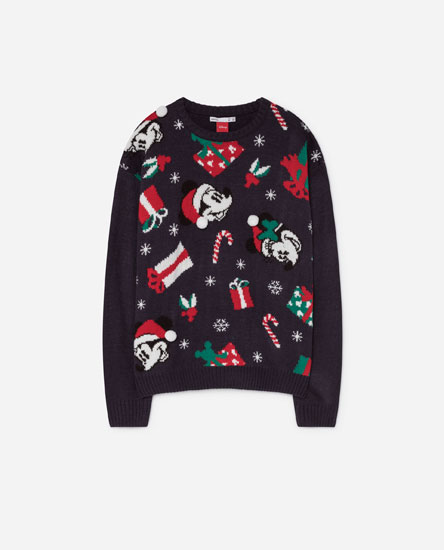 MICKEY MOUSE CHRISTMAS SWEATER