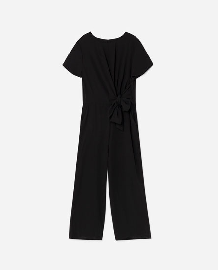 JUMPSUIT WITH SIDE TIE