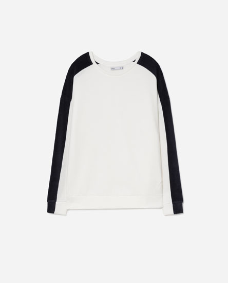 TWO-TONE SWEATSHIRT