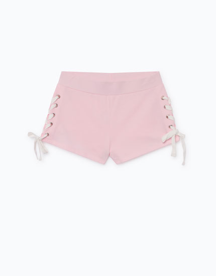 SHORTS WITH SIDE TIES