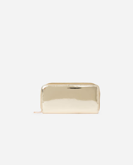 METALLIC RECTANGULAR PURSE