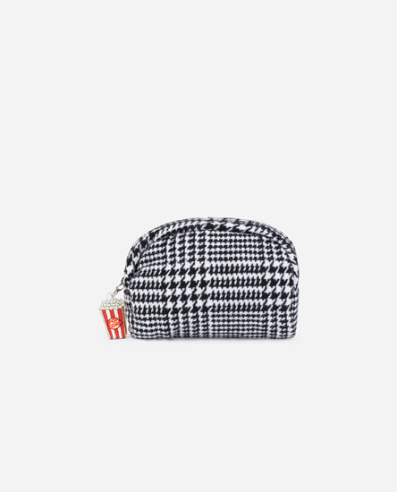 CHECKED TOILETRY BAG