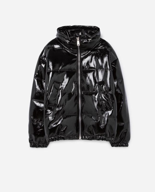 Abrigo negro lefties