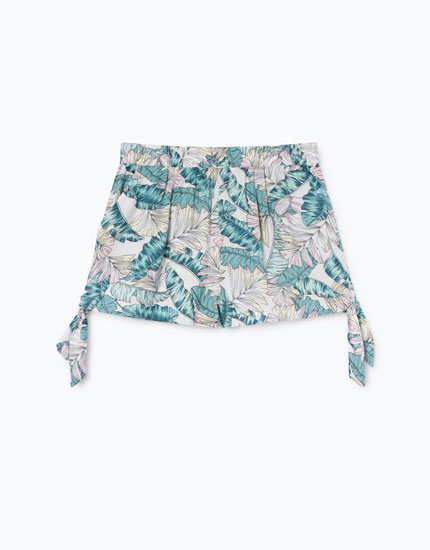 SHORT ESTAMPADO TROPICAL