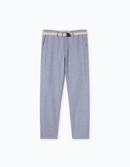 OXFORD CHINO TROUSERS