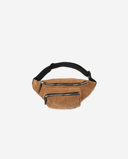 CORDUROY BELT BAG