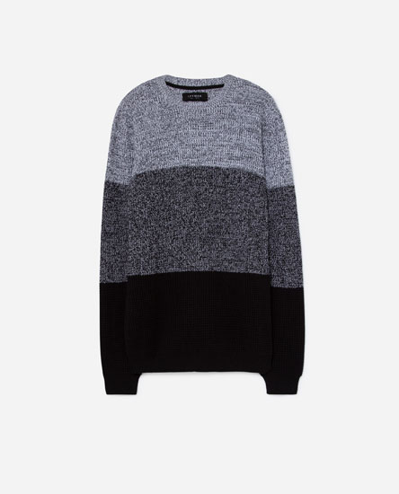 CONTRASTING SWEATER