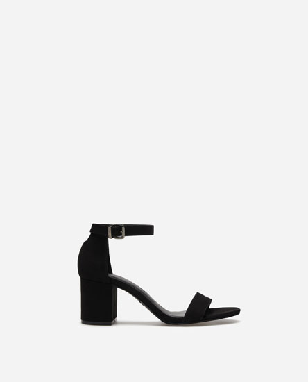 BASIC MID-HEEL SANDALS