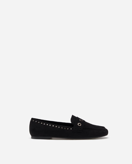 LOAFERS WITH APPLIQUÉS