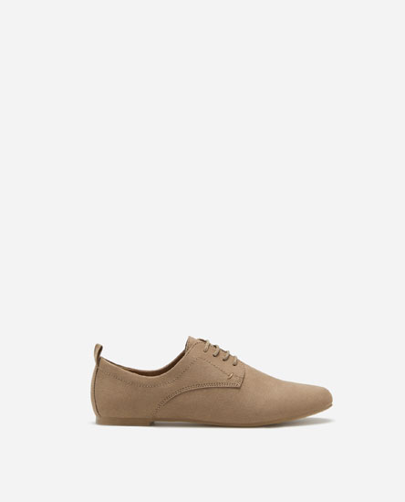 BASIC LACE-UP SHOES - SUPER PRICE