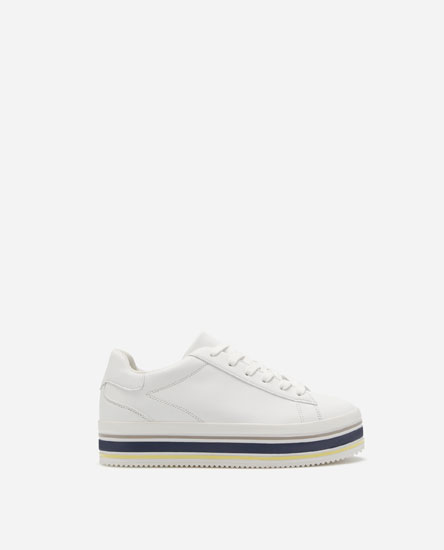 CHUNKY SOLE FASHION PLIMSOLLS