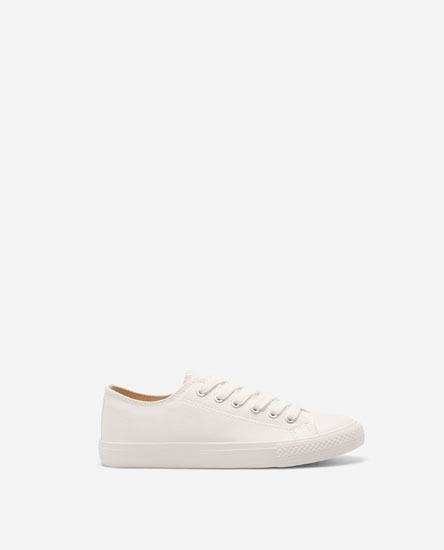 FASHION PLIMSOLLS WITH TOE CAPS