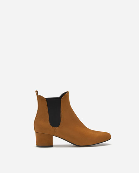 BASIC HIGH-HEEL CHELSEA BOOTS