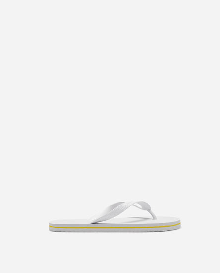 PLAIN WHITE BEACH SANDALS