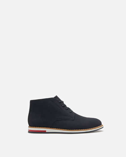 WELTED SOLE ANKLE BOOTS