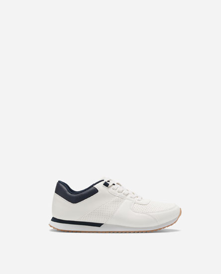BROGUED CASUAL SNEAKERS