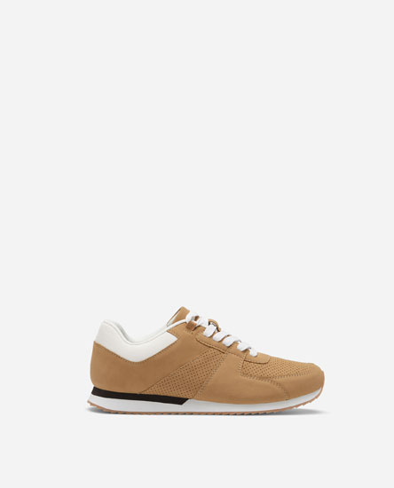 BROGUES CASUAL TRAINERS