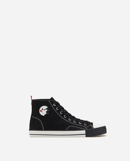 MICKEY HIGH-TOP SNEAKERS
