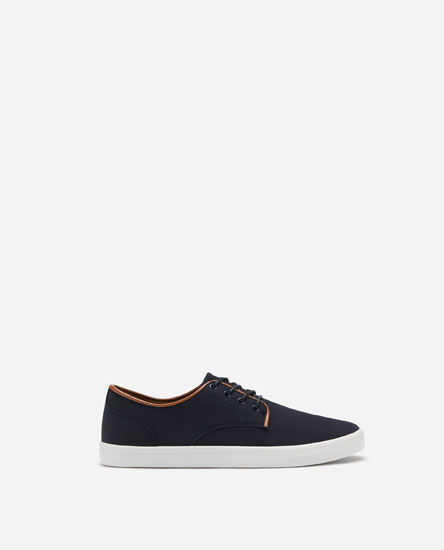 BLUCHER PLIMSOLLS WITH PIPING