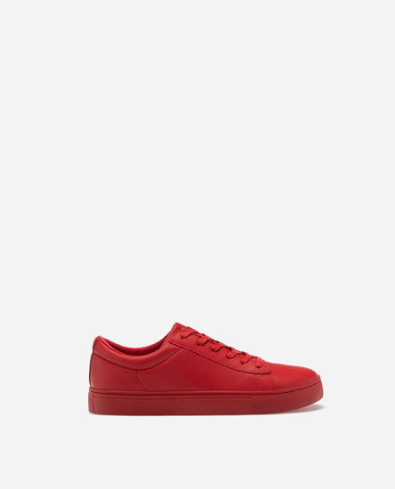 BASIC FULL RED TRAINERS