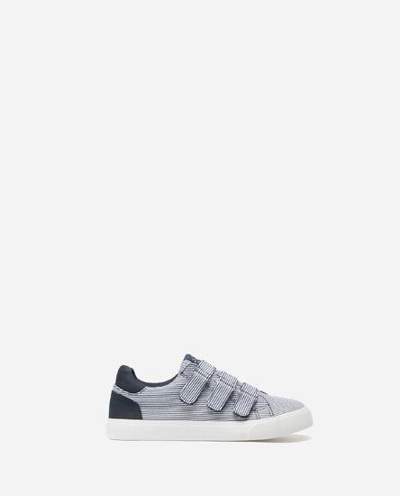 NAUTICAL STRIPE PLIMSOLLS