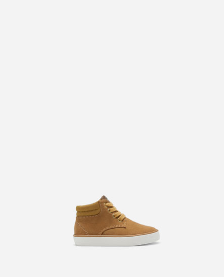 CASUAL HIGH-TOP SNEAKERS