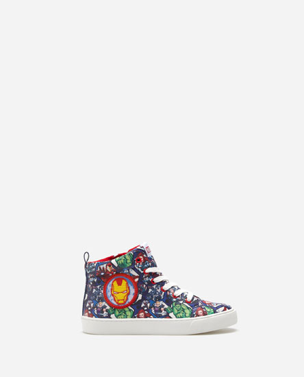SUPER HEROE HIGH-TOP SNEAKERS