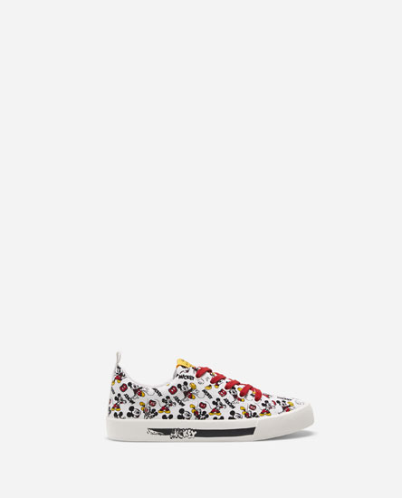 COLOURFUL MICKEY MOUSE PLIMSOLLS