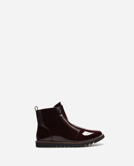 ANKLE BOOTS WITH DOUBLE ZIP